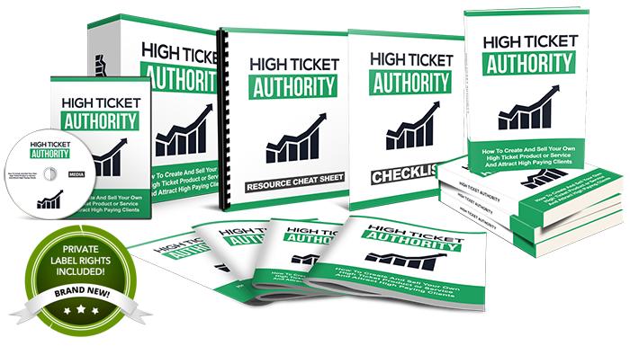 High Ticket Authority PLR
