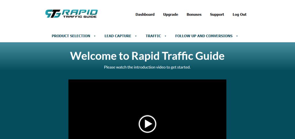 rapid traffic guide members